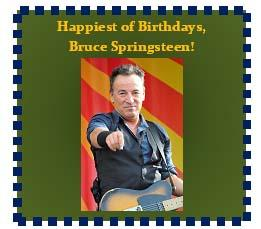 Bruce Springsteen Birthday