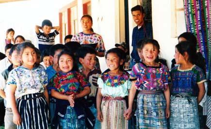 Little girls at school