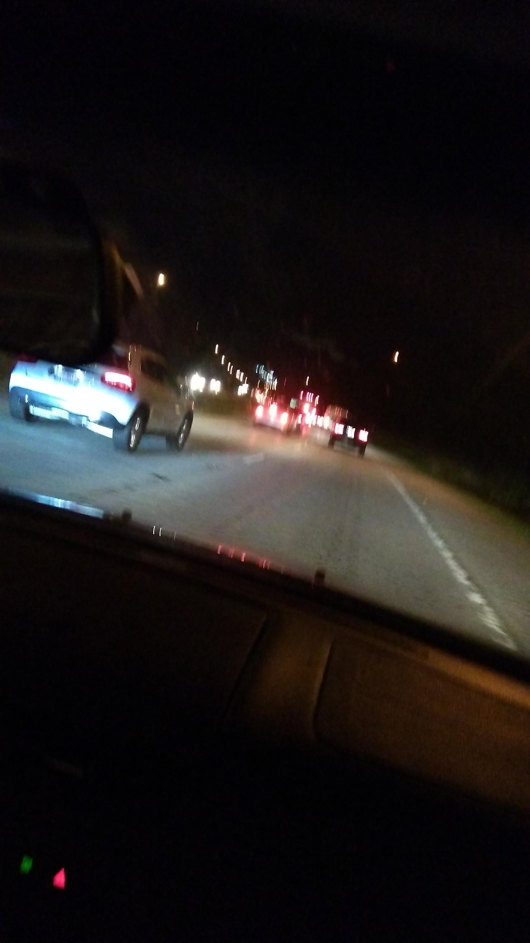 12 hour traffic jam