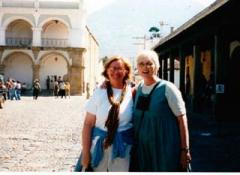 Me and Kathleen in Antigua