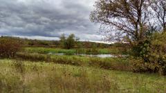 Bike path along the Fox River