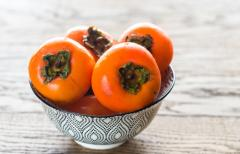 Bowl of Persimmons